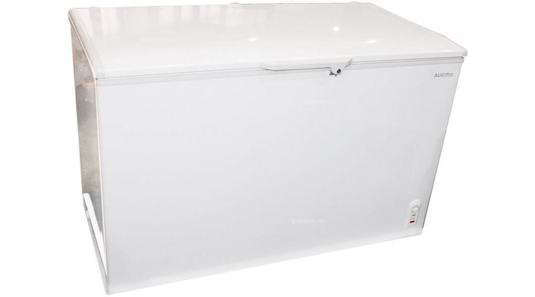 Ларь морозильный Aucma с глухой крышкой BD-390