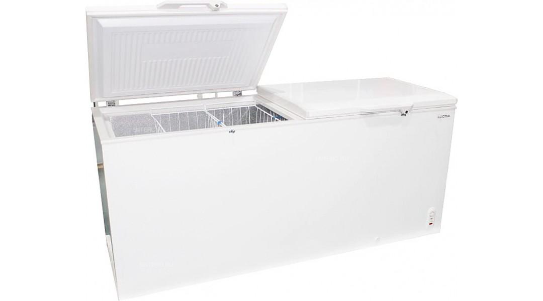 Ларь морозильный Aucma с глухой крышкой BD-446