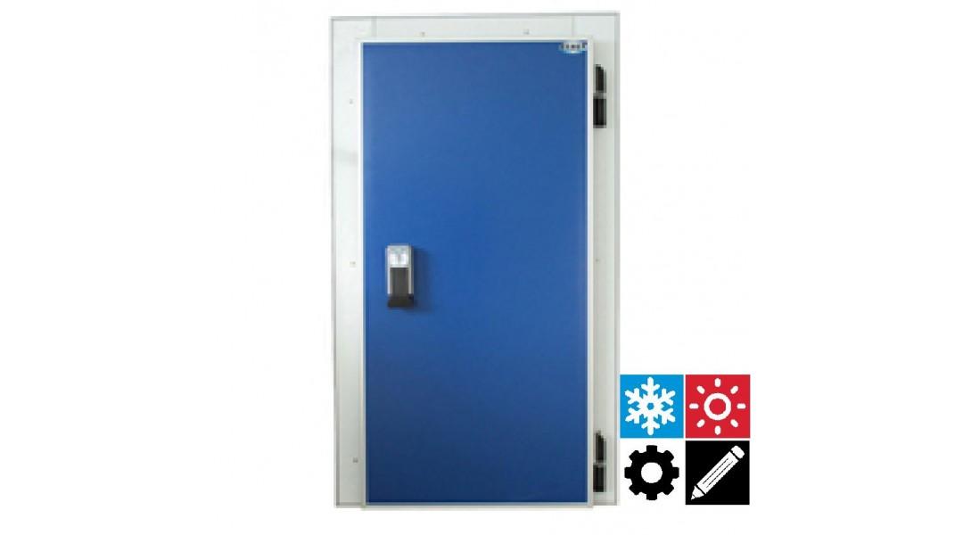 Дверь холодильная распашная одностворчатая СЕВЕР РДО 1300