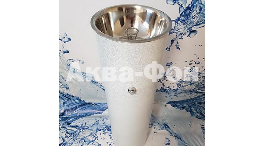Фонтанчик питьевой кнопочный ФПН-2К (полимер) диаметр чаши 260 мм