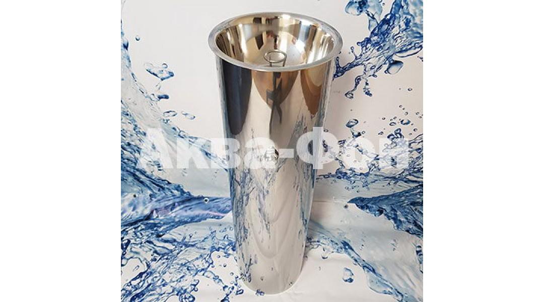 Фонтанчик питьевой кнопочный ФПН-2К (нержавеющая сталь...