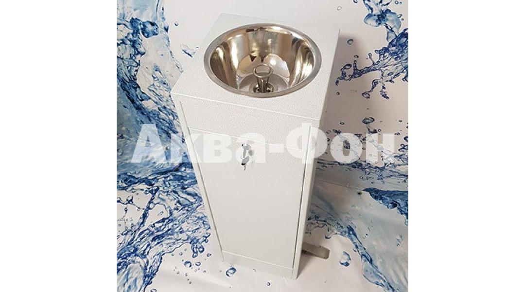Фонтан питьевой ФП-КМ4 (полимер) с педальным пуском