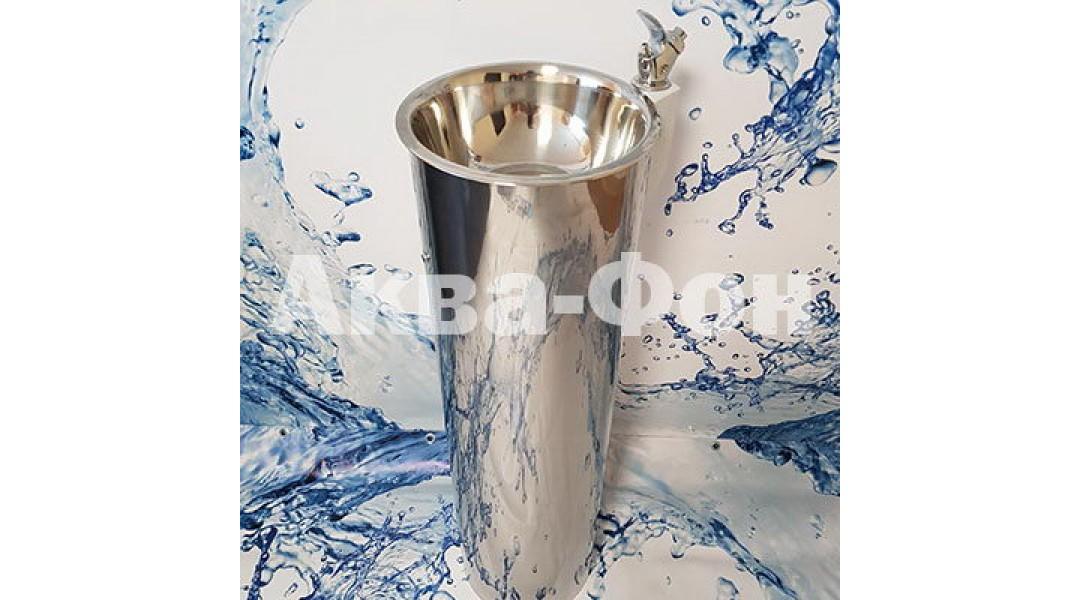 Фонтан питьевой ФПН-2 с краном поилкой (нержавеющая ста...