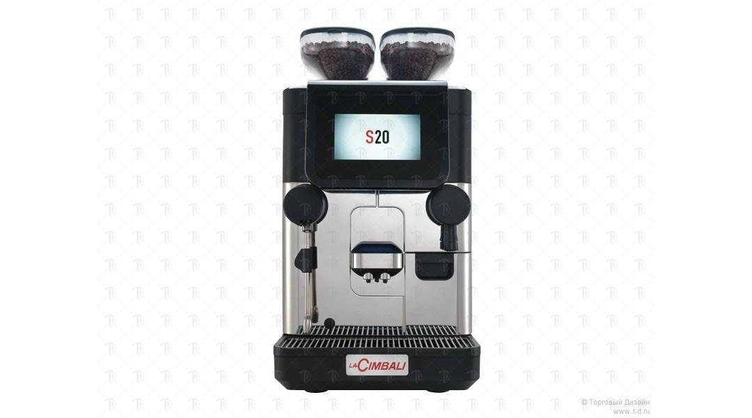 Автоматическая кофемашина La Cimbali S20 CP Milk PS