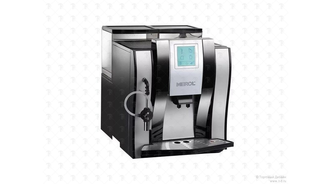 Автоматическая кофемашина Merol ME-709 Black OFFICE