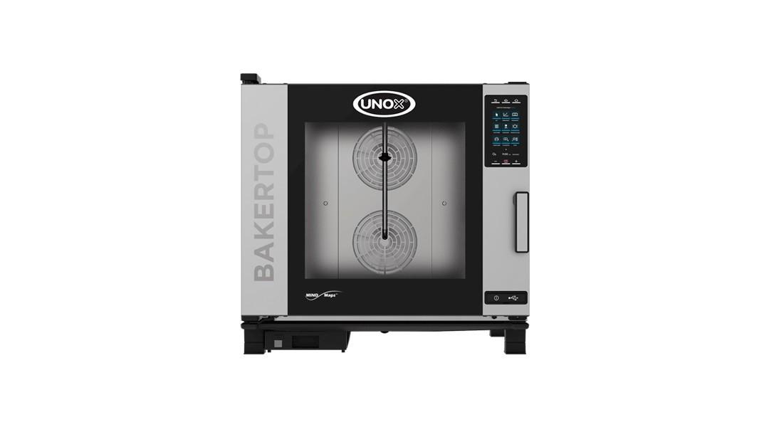 Пароконвектомат газовый серии XEVC, модель XEVC-0511-GPR